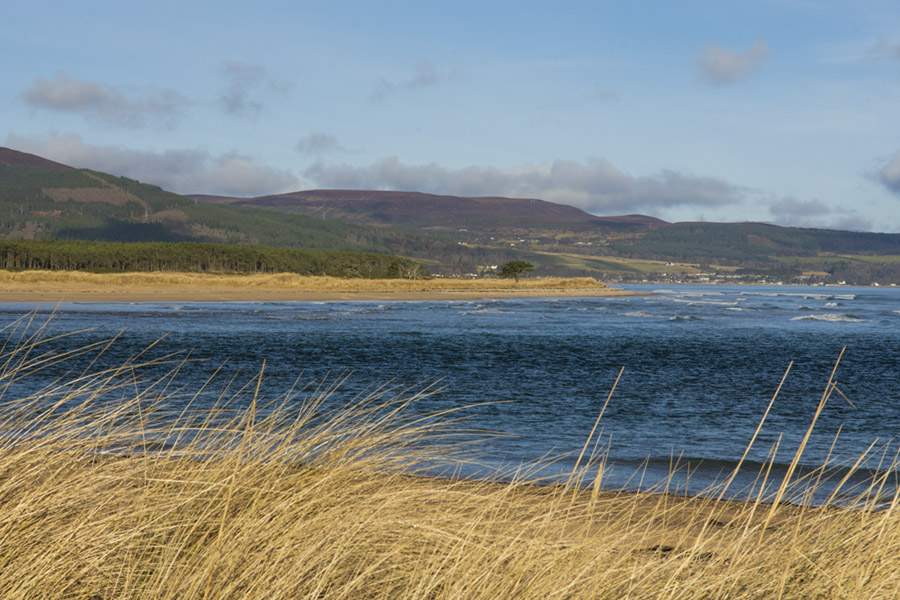 Loch Fleet meets the sea